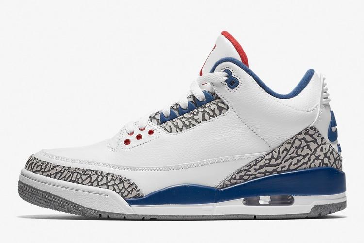 air jordan 3 retro og true blue shoe