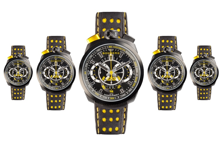 bomberg bolt yellow color watch