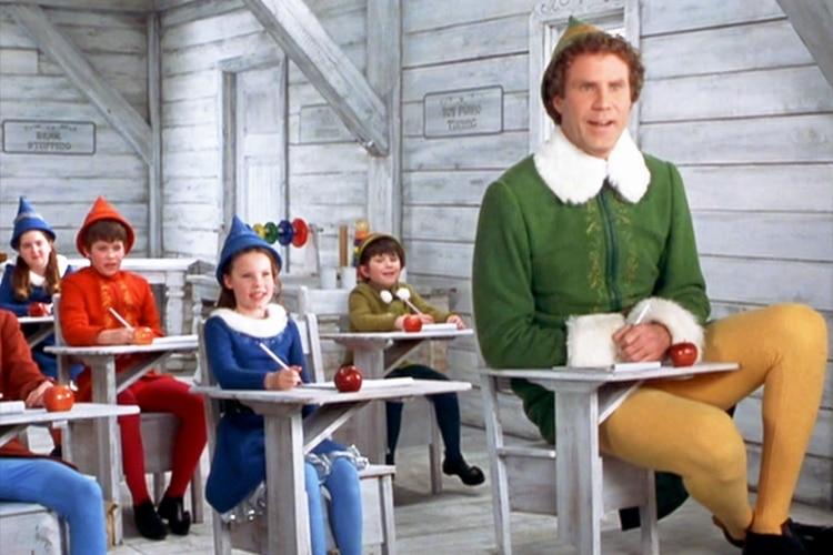 elf features will ferrell as buddy