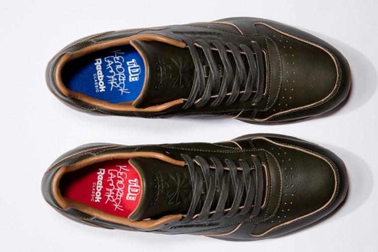kendrick lamar x reebok classic leather shoe
