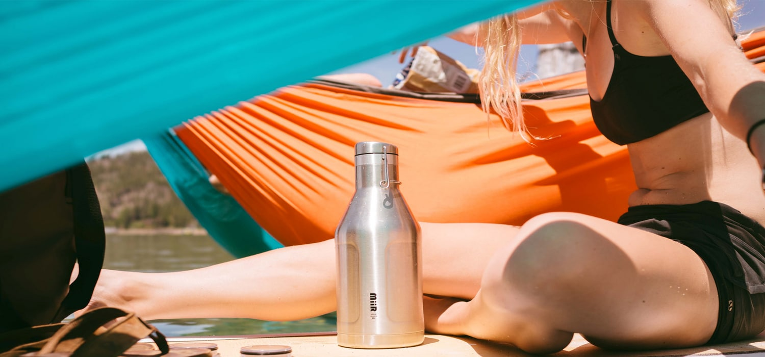 miir stainless steel insulated growler