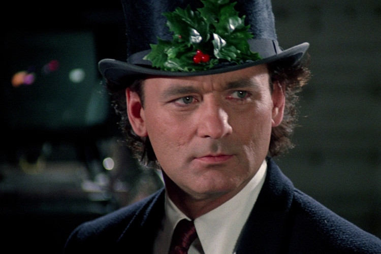 scrooged christmas comedy adaptation