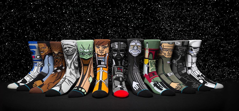 christmas gift guide stance star wars socks