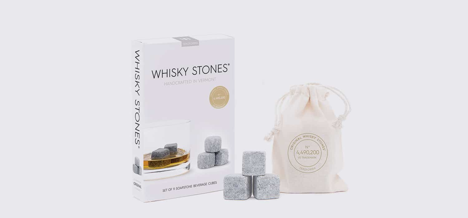 whisky stones cover