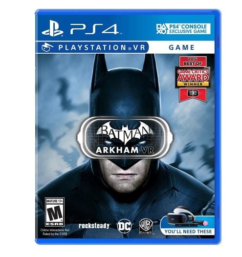 batman arkham vr ps4 game