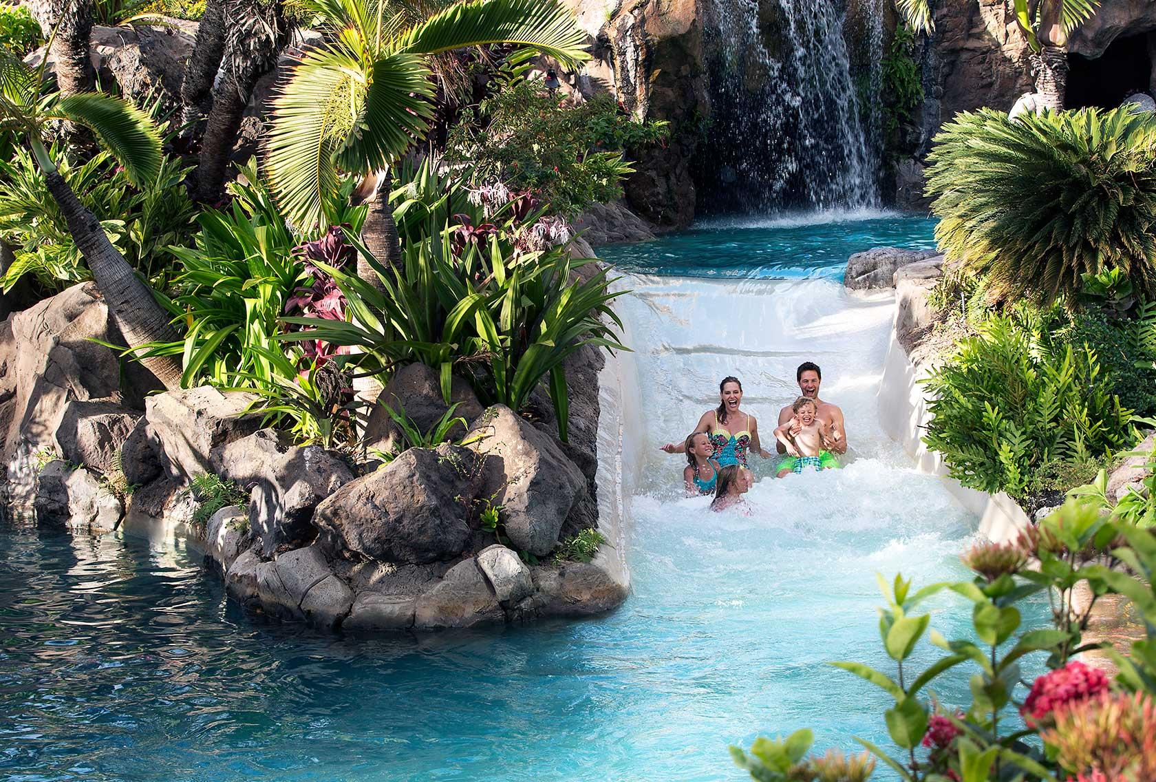 Hawaii Natural Water Slides