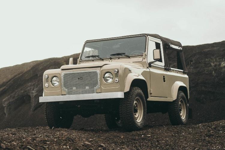 restored defender 90 classy beast
