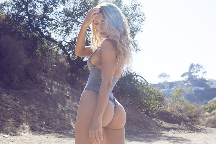 sierra skye mid shoot model