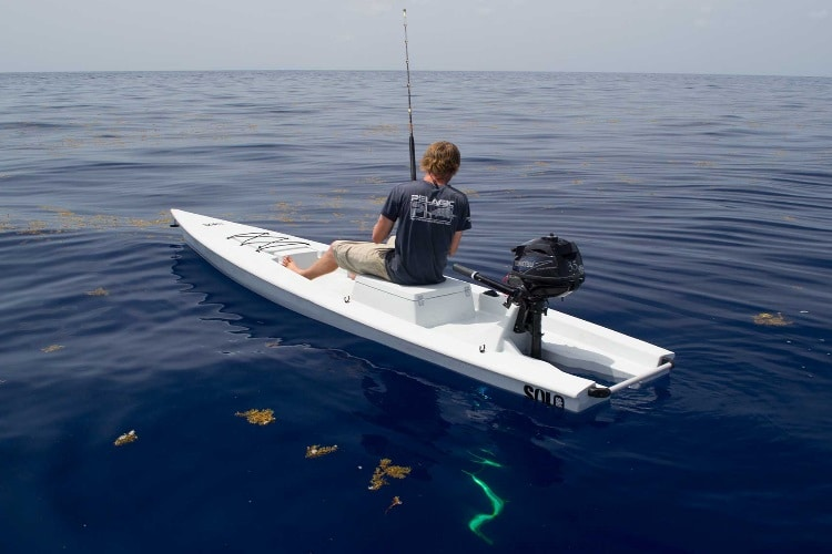 Solo skiff is the beginning of your one man fishing for One man fishing boat