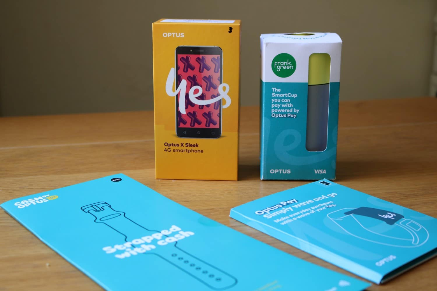optus pay device