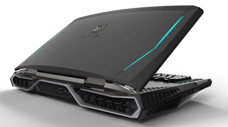 acer predator 21 x laptop with air cooler