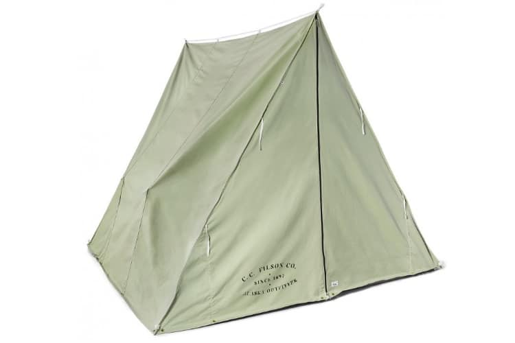 wedge tent extra reliability against the weather.