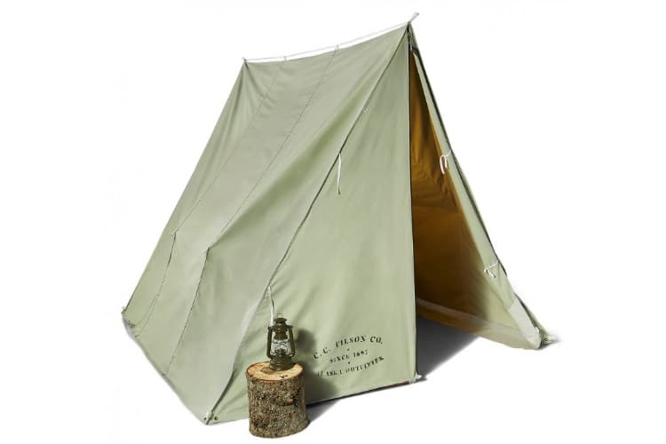 outdoors wedge tent zippers are well