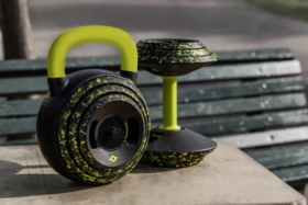 practix combines a kettlebell and dumbbell