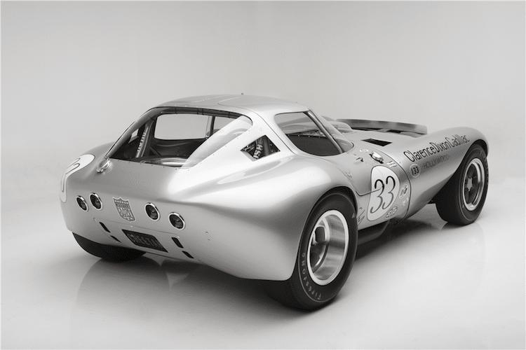 rear side of cheetah race car