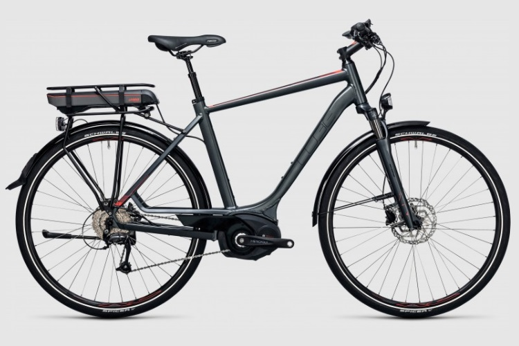 Cube Touring Hybrid 400 electric bicycle