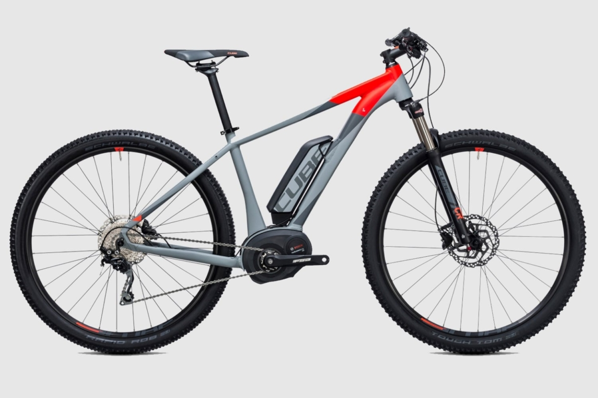 cube touring hybrid 400 electric bicycle different color