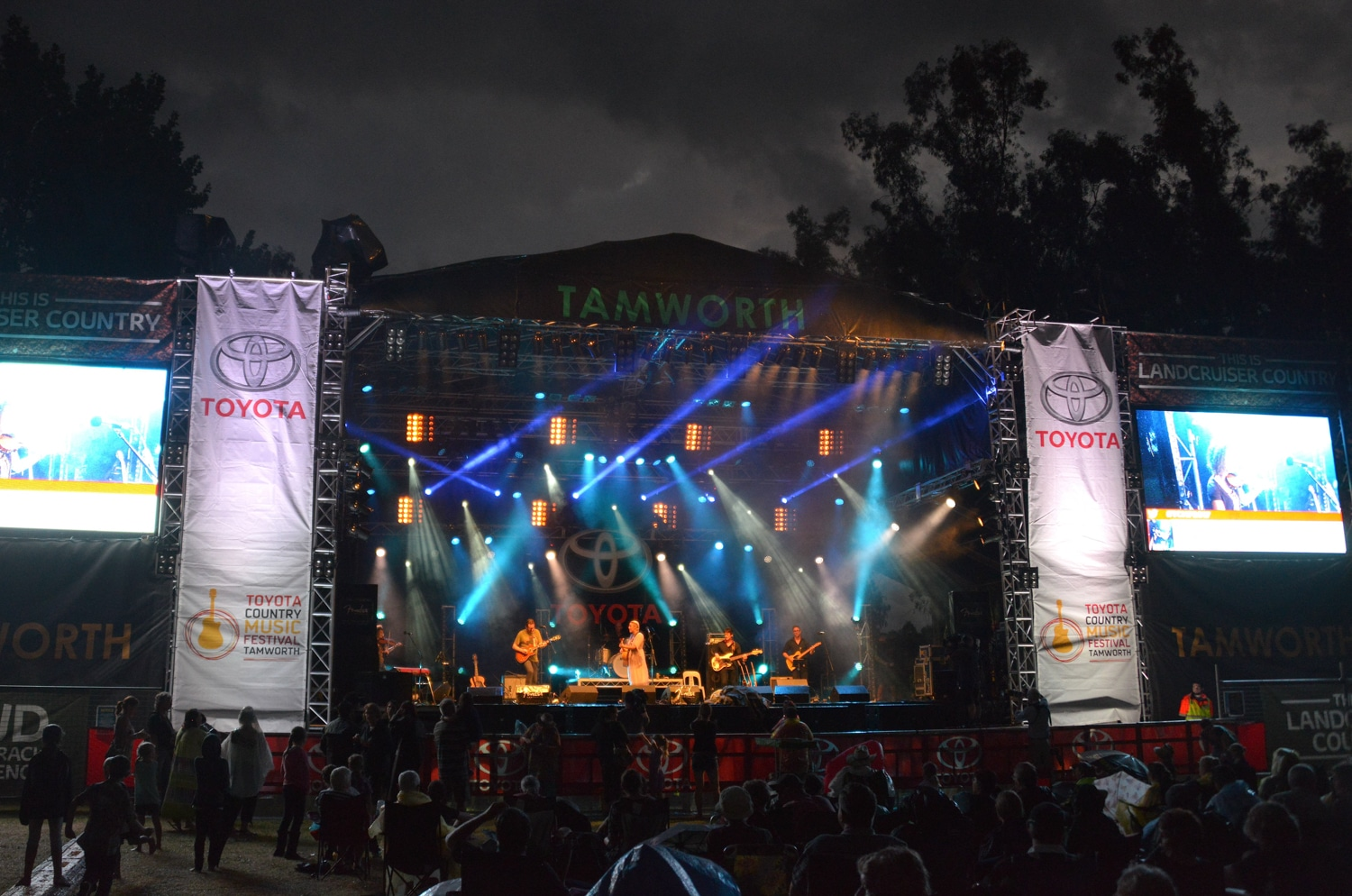 toyota largest music festival in the country