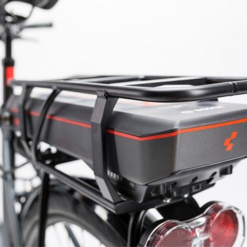 electric bicycle back seat box