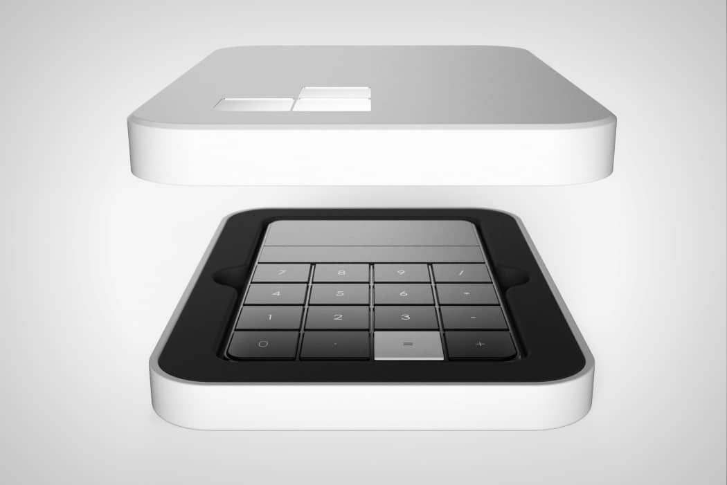 calculator 2.0 black with white cover