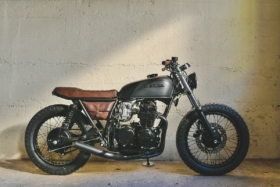 cafe racer motorcycle launched