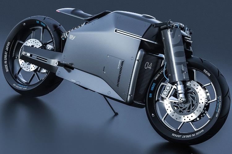 siv katana motorcycle angle