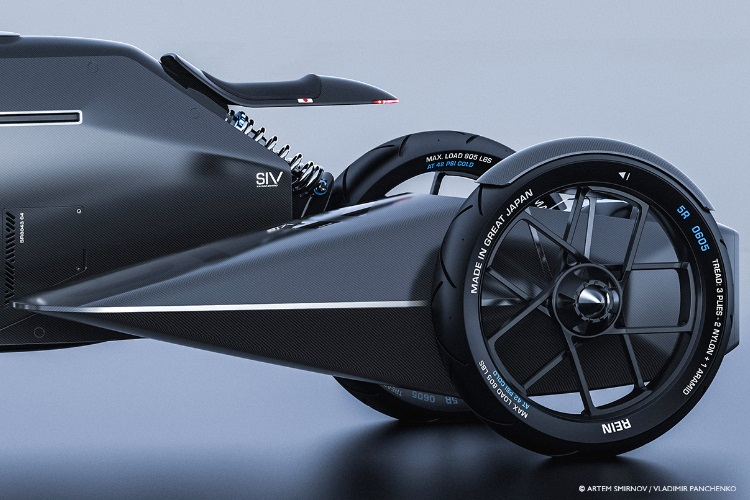 siv katana motorcycle modern technology