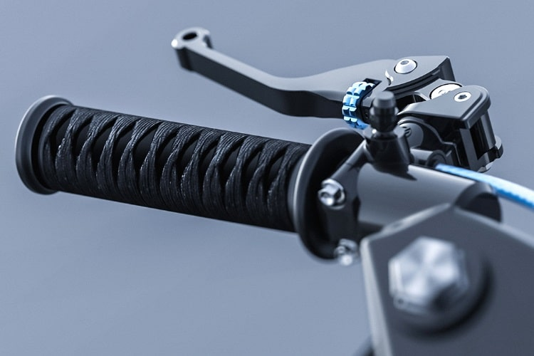 siv katana motorcycle handle one side