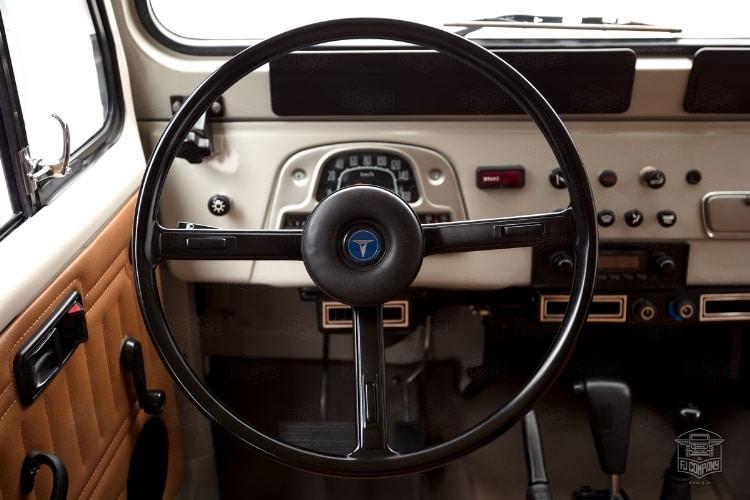 toyota fj45 steering wheel