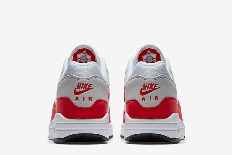 online store 0834f 53aef nike air max 1 sport red shoe