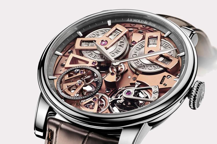 arnold  son tourbillon chronometer no 36