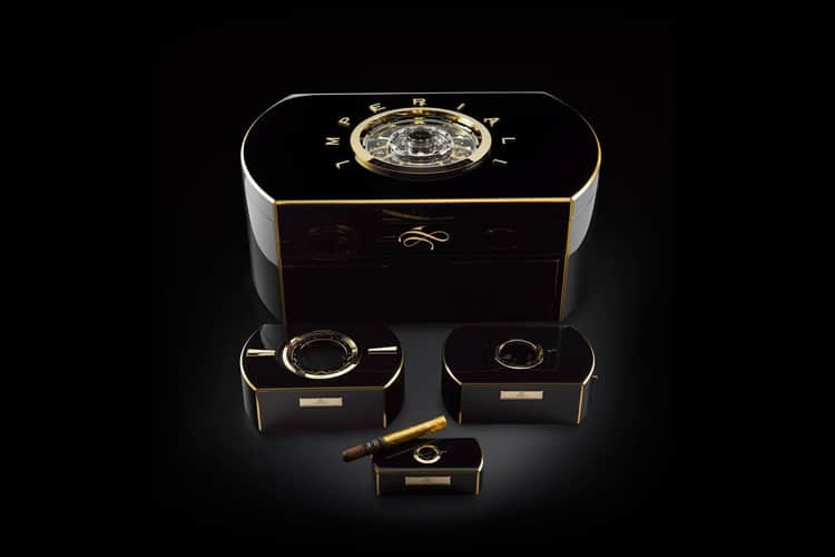 $1 million cigar humidor there are 4 pieces