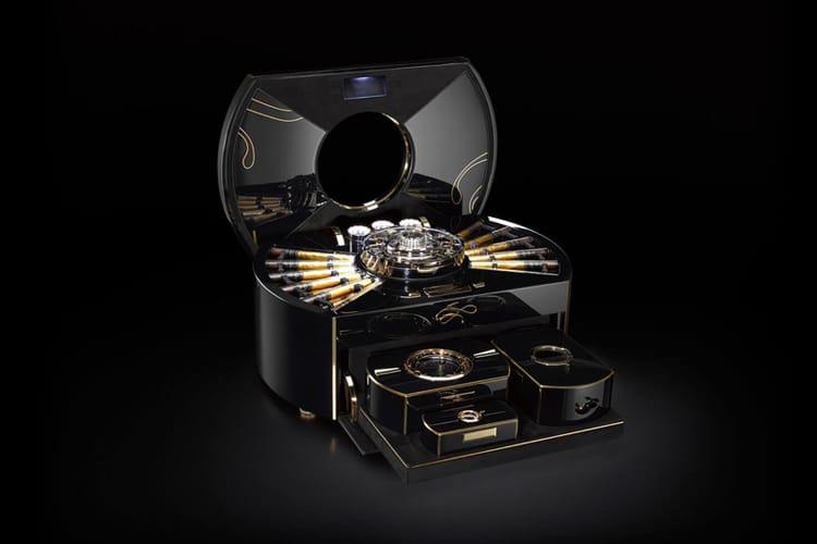 $1 million cigar humidor regulating humidity control system