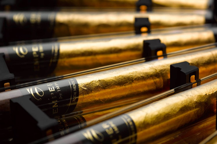 $1 million cigar humidor there is a golden
