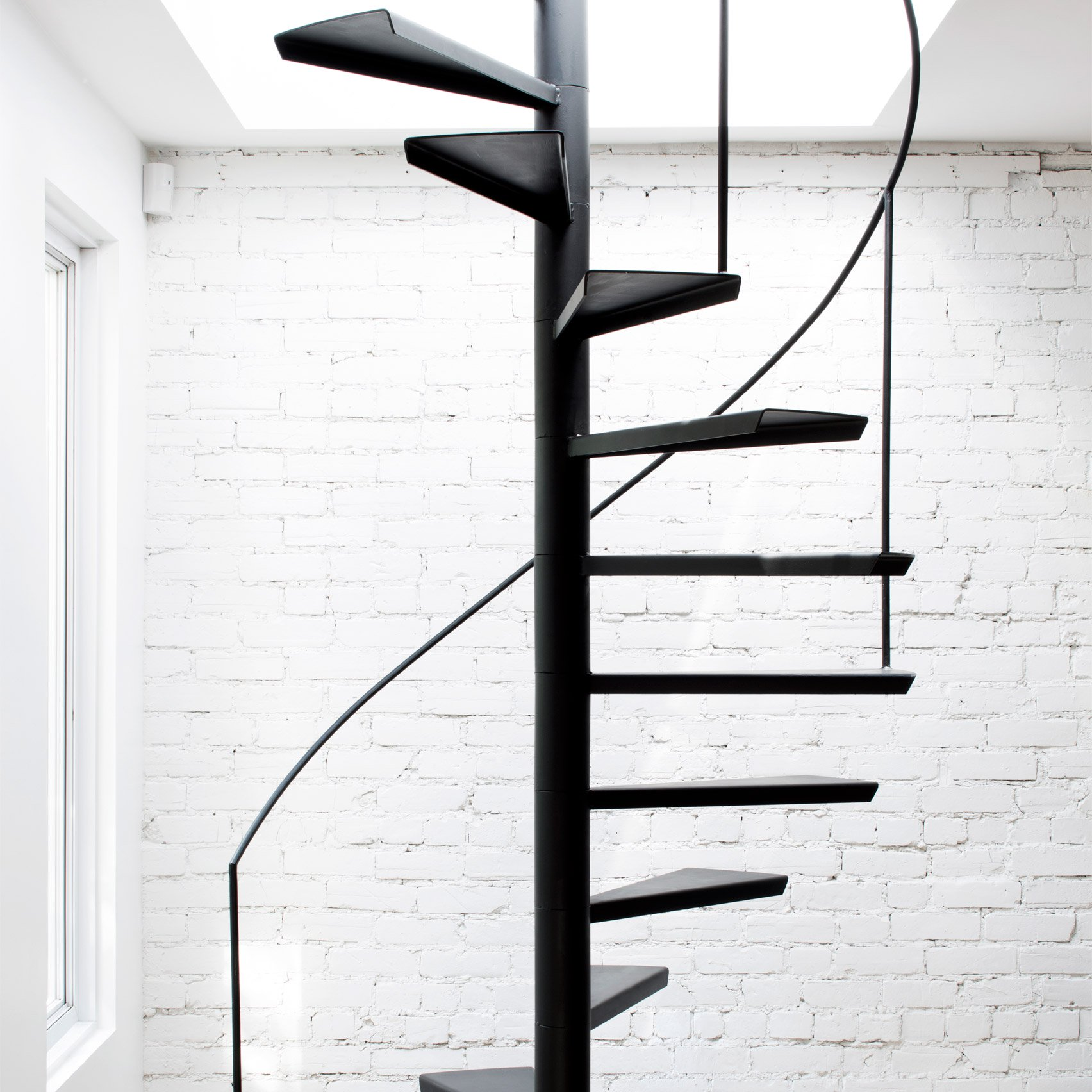dezeen home small spiral staircase dimensions