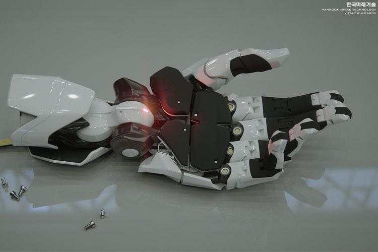 hankook mirae robot hand