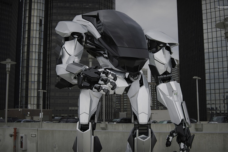 The Terrifying Hankook Mirae Method 2 Robot Suit Will Blow Your Mind Man Of Many