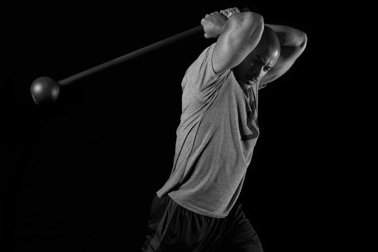 steel mace warrior workout for fitness