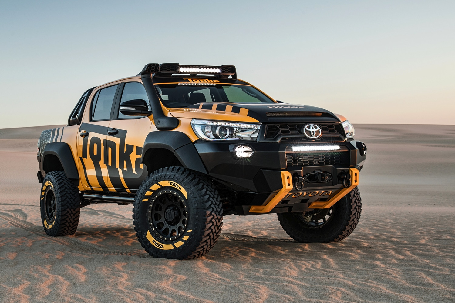 Round Rock Toyota >> Toyota's HiLux Tonka Concept is a Child's Dream Come True ...