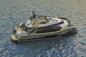 ego superyacht catamaran concept launched