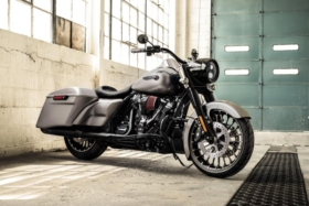 harley davidson road king motorcycle launched