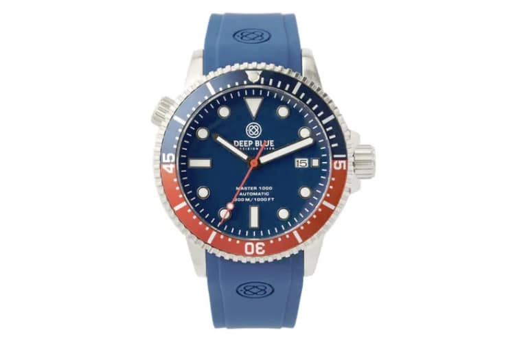 huckberry master 1000 automatic diver watch