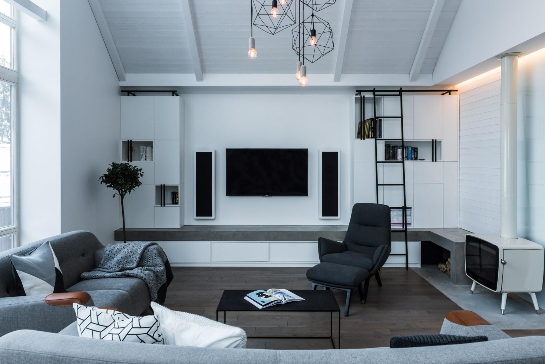 monochrome design interior