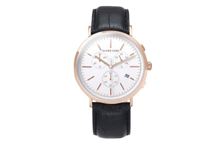 oliver coen watch sub dial system