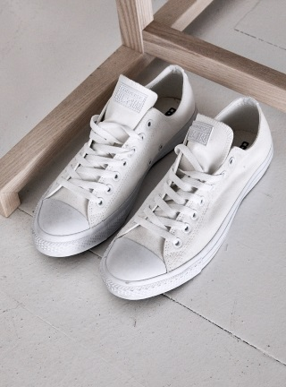 assembly label voucher white sneakers