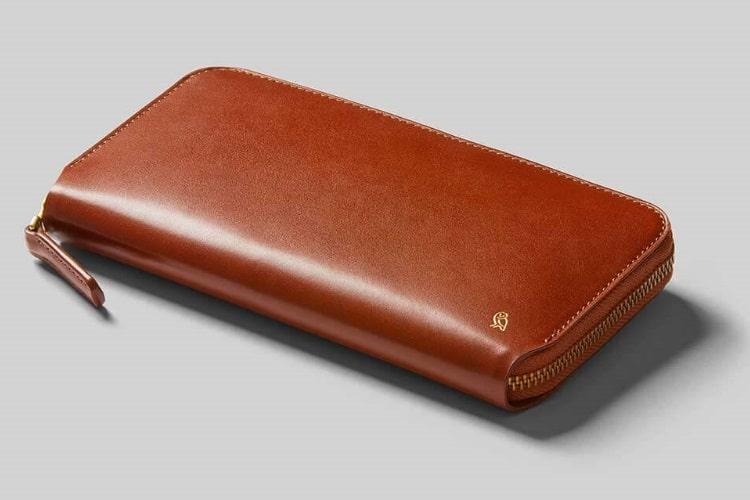 bellroy orange color wallet