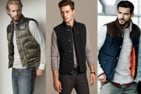 17 puffer vests and gilets