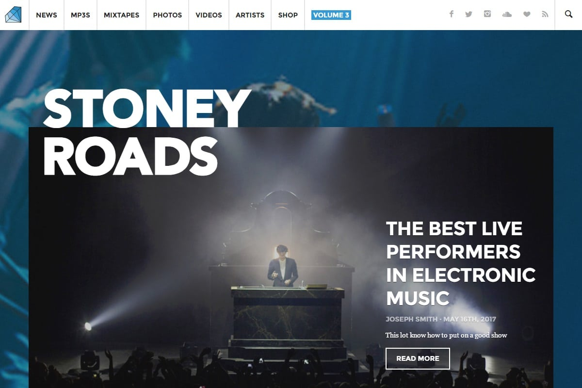 stoney roads are renowned dance music specialists