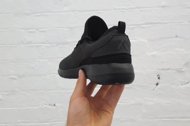 aussie sneaker shoe heel cap