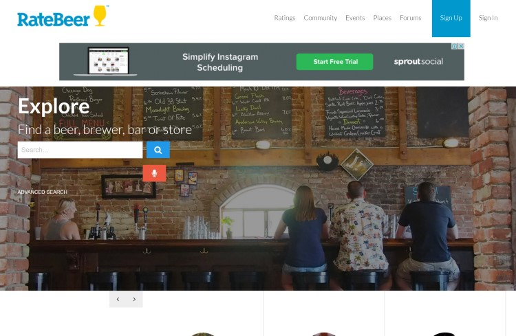 rate beer bar blog site